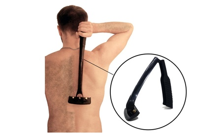 Body Grooming and Back Hair Shaver, Easy to Use, Foldable Handle b373cb82-ea9b-40a9-b68d-4647f3a4116b