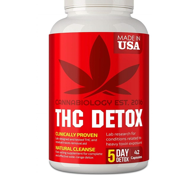 THC Detox Made in USA Liver Detox, Urinary Tract & Kidney Cleanse