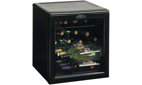 Danby 1.8 Cu. Ft. 17-Bottle Counter-Top Wine Cooler - Black photo
