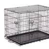 "48""/42""/36""/30""/24"" Pet Kennel Cat Dog Folding Crate Wire Metal Cage"