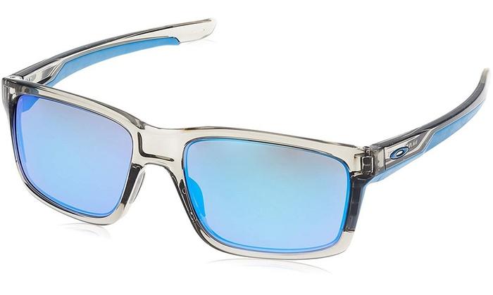 fda92c6c50b Oakley Mainlink OO9264-03 Sunglasses Grey Ink Sapphire Iridium Lens 9264 03