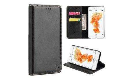 Insten Luxury Gentleman Magnetic Flip Leather Wallet Case For...