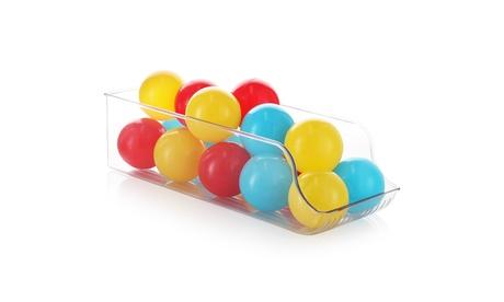 StorageBud Plastic Organizer Containers for Toy Storage - Toy Bins with Handles
