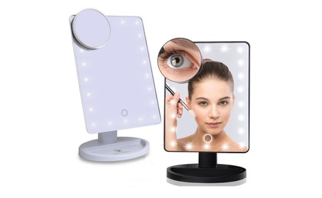 Touch Screen LED Lighted Makeup Mirror Vanity d50a83c9-7f1d-4ee0-957d-78d7de7ed75e