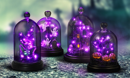 Halloween Dome with Automatic LED Timer