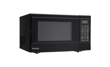 Danby 1100 Watts 1.4 cu. ft. 10 Power Countertop Microwave-Black photo