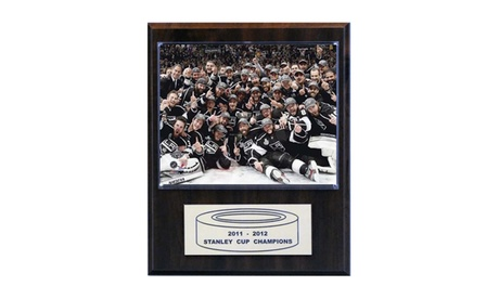 "NHL 12""x15"" Los Angeles Kings 2012 Stanley Cup Celebration Plaque db1d7ee2-8448-4143-a477-0ce6638aa37f"