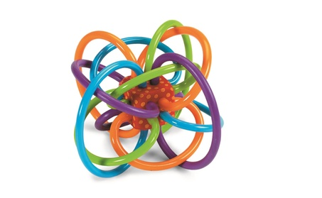 Manhattan Toy Winkel Rattle and Sensory Teether Activity Toy c68584c7-fa4c-4425-9ab4-b2b5a8f31e8a