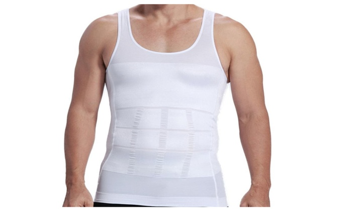 New Breathable Material Body Shaper Compression Under Shirt
