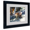 CATeyes 'Virgin Islands 6' Matted Black Framed Art