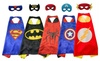 GUO: Cape and Mask set Superhero Dressing Costumes for Kids