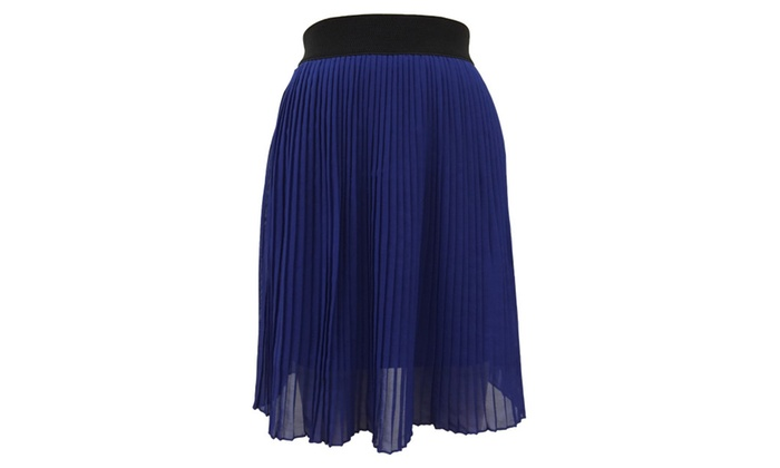 Short Pleated Skirt - Juniors'/Womens'