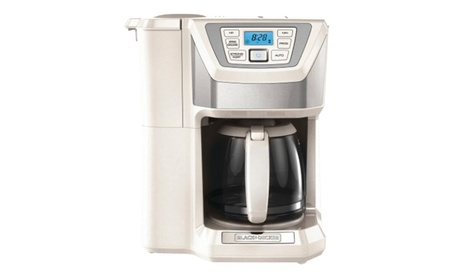 Applica CM5000WD 12 Cup Mill And Brew Coffeemaker - White 6043e949-333c-408f-b670-172c862e93be