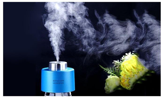 USB Mini Cap Air Humidifier Rechargeable Steam Aroma Vaporiser