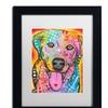 Dean Russo 'Loving Joy' Matted Black Framed Art