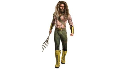 Batman v Superman: - Deluxe Adult Aquaman Costume 30b6529a-ffca-4ab0-a95f-899600522095