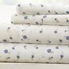 Soft Essentials Premium 4 Piece Soft Floral Bed Sheet Set