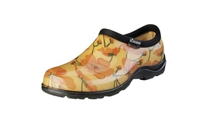 Sloggers PPL5116CAD06 Womens Shoe California Dreaming Orange Print - Size 6