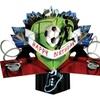 Second Nature Pop Ups - Soccer Birthday Card