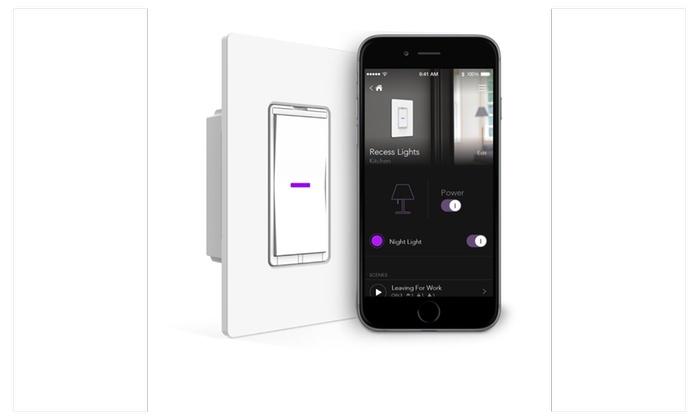 Smart Light Switch >> Idevices Idev0008 Wall Switch Wifi Smart Light Switch No Hub Req