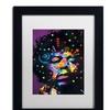 Dean Russo 'Jimi' Matted Black Framed Art