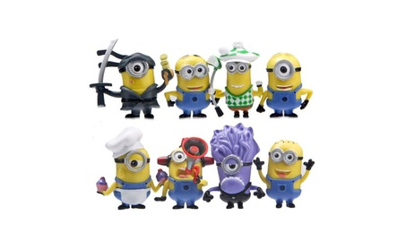 Set of 8 Minions Action Figures abe9bdd5-22bb-44af-bd01-e9ba03894155