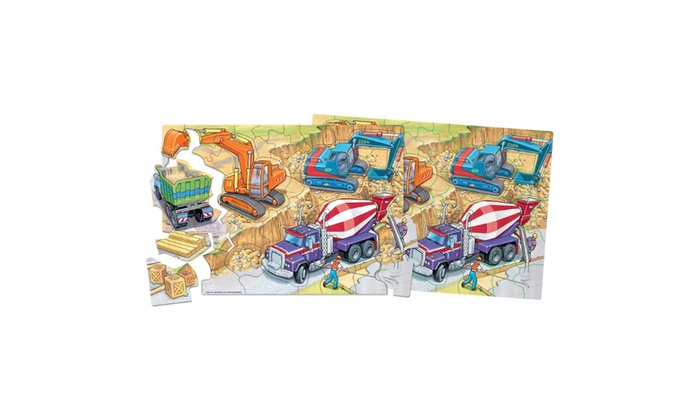 Shure Construction Magnetic Playboard and Puzzle T.S