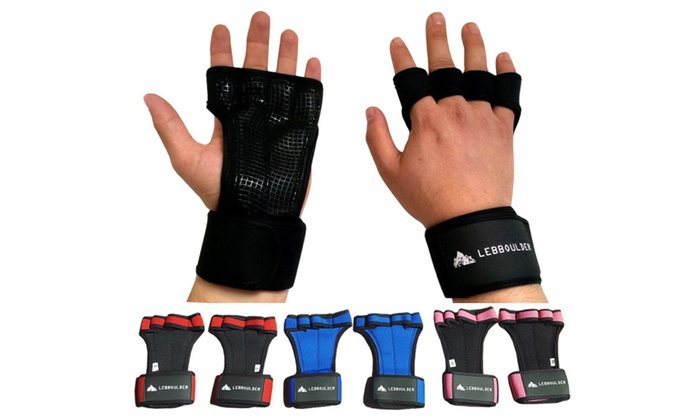 Workout Gloves With Wrist Support And Grip