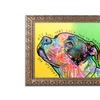 Dean Russo 'Lick You to Death' Ornate Framed Art