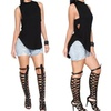 Fashion Women Sexy Casual Sleeveless Backless Hollow Out Vest Tank Top