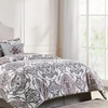 Reversible Comforter Set with Decorative Pillows (7-Piece)