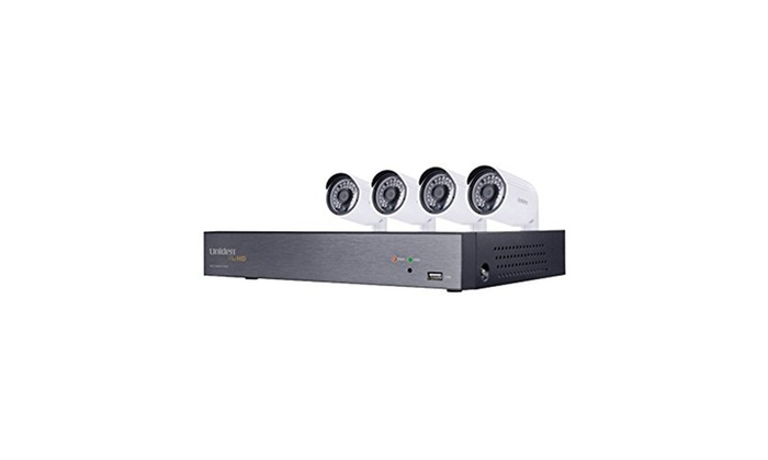 Uniden 4-Channel 1080p 1TB HDD DVR 4 Security Camera System
