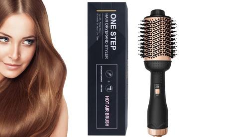 Hot Air Brush Hair Dryer Brush Hair Dryer & Volumizer 3 in 1 Brush Blow Dryer