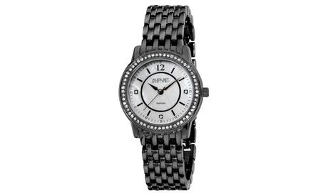 August Steiner Women's Swiss Quartz Diamond Bracelet Watch ASGP8027 acd20e4d-5205-4242-a6b2-d134e8761764