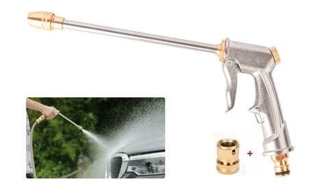 High Pressure Power Gun Water Spray Garden Hose Nozzle Car Clean Washer Tool