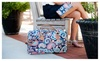 PersonalizedbyEmily: Personalized Emerson Paisley or Mia Tile Travel Duffel
