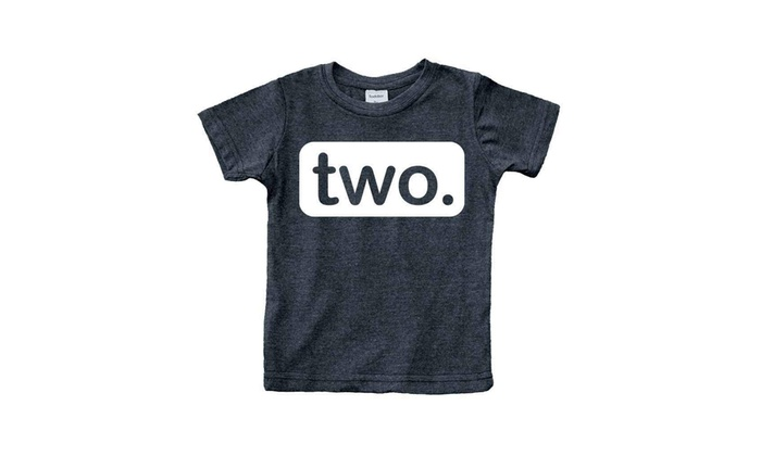 LSOOCWRL 2nd Birthday Shirt Boy 2 Year Old Toddler Kids Outfit Second Two
