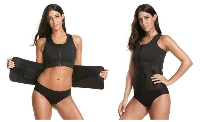 d78ceedd75 Fitness Hot Sweat Shaper Waist Corset Trimmer Slimming Belt ...