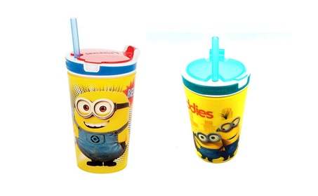 2 in 1 Snack & Drink Cup Perfect For The Car 4472a3c3-c68b-4538-b293-4c256521cd3e