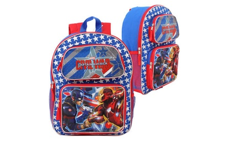 Captain America Civil War 3D Lenticular Backpack dd0e560b-990d-49b0-82c2-4ca7290c6f56