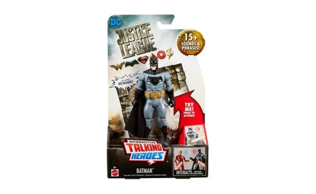 Mattel Justice League Talking Heroes Batman™ Figure FGG50 092bce68-847b-477b-a38d-cbe25cc634de