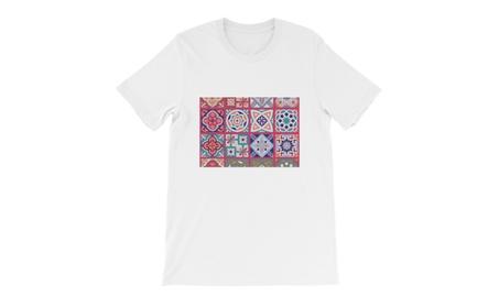 Fashionable Cotton Unisex Top T-shirt Moroccan Print 9c5771fd-f52b-4a7d-93ca-11609e5c4e6c