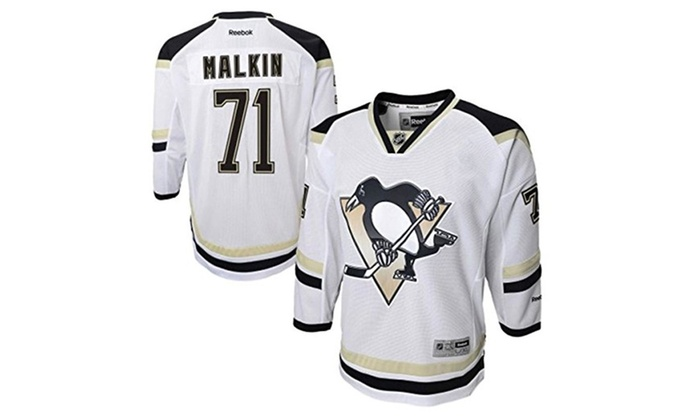 sports shoes 3a127 6a096 Pittsburgh Penguins Evgeni Malkin Stadium Series Youth Premier Jersey