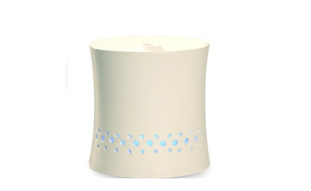 SPT Ultrasonic Aroma Diffuser/Humidifier with White Ceramic Housing 09db542b-b839-4bf6-8aa3-7b251e1c5525