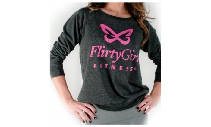 Flirty Girl Brand Ladies Sweatshirt