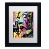 Dean Russo 'John Lennon' Matted Black Framed Art