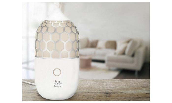 Arospa Harmony Ultrasonic Aromatherapy Diffuser & Humidifier