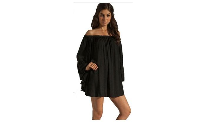 Women Loose Summer Dress Cute Sleeve Gown Dresses