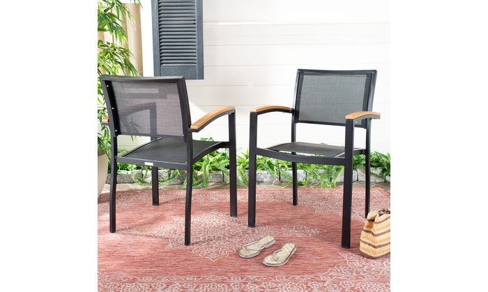 Surprising Safavieh Brand New Outdoor Chairs Groupon Gmtry Best Dining Table And Chair Ideas Images Gmtryco