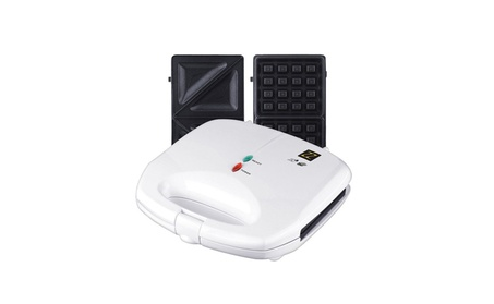 Waffle Sandwich Toaster Maker Grilled Cheese Panini Press NonStick 11e9830c-472c-4667-aa98-99e2e03d07de